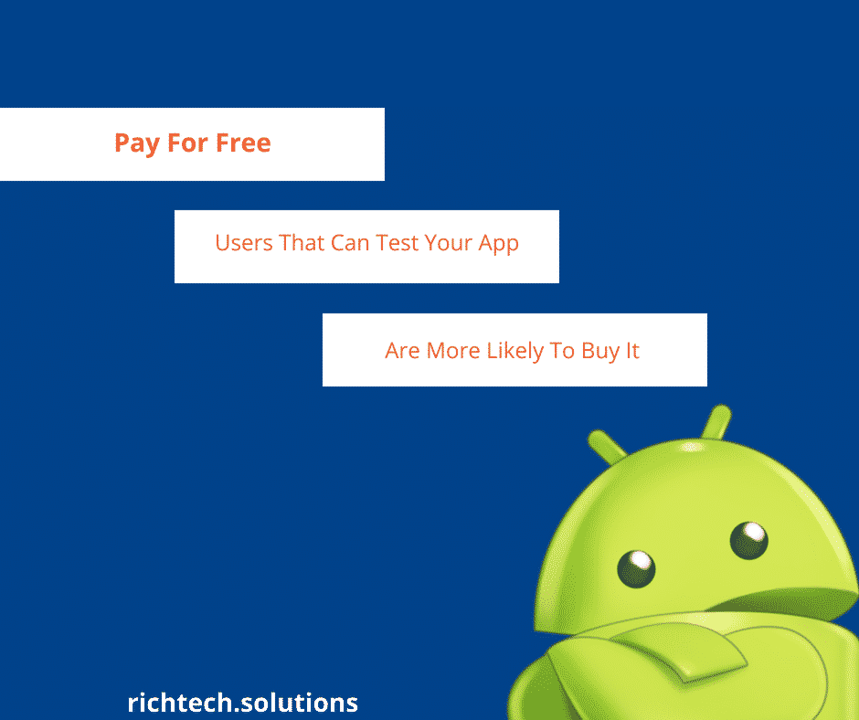 Pay For Free App Marketing